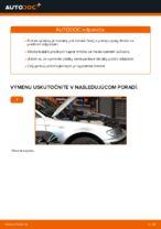 Ako vymeniť uloženie prednej vzpery zavesenia kolies na BMW E46 Touring