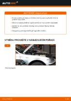 Jak vyměnit uložení přední vzpěry zavěšení kol na BMW E46 Touring