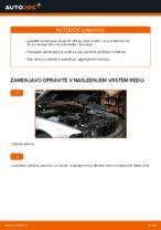 Kako zamenjati zadnje zavorne ploščice za kolutne zavore na BMW E39
