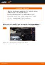 Kako zamenjati zavorne kolute na sprednjem delu pri BMW E46 Touring