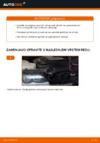 Kako zamenjati sprednje zavorne ploščice za kolutne zavore na BMW E46 Touring