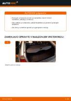 Zamenjavo Nosilec amortizerja: pdf navodila za BMW 3 SERIES