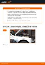 Como substituir a montagem de suporte de suspensão dianteiro em BMW E46 Touring