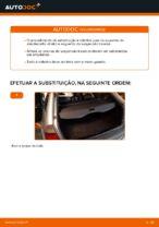 Como substituir o apoio do amortecedor traseiro no BMW E46 Touring