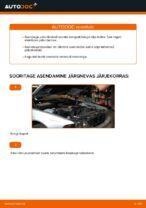 Kuidas vahetada esimesi piduriklotse või pidurikettaid autol BMW E39
