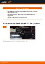 Kuidas vahetada ja reguleerida Piduriklotsid BMW 3 SERIES: pdf juhend