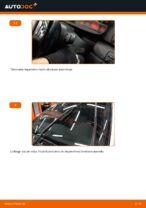 Kuidas vahetada esimesi klaasipuhasteid autol BMW E46 Touring