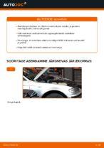 BMW 3 SERIES eesmine ja tagumine Amordi Tugilaager vahetamine: juhend online