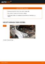 Automehāniķu ieteikumi TOYOTA Toyota Prado J120 4.0 Degvielas filtrs nomaiņai