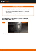 PDF-Tutorial zur Wartung für LAND CRUISER