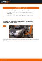 Wie Sie Motoröl und den Ölfilter am Renault Scenic 2 ersetzen