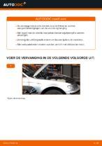 Hoe de voorste veerpootbevestiging van een BMW E46 Touring vervangen