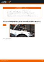 Hoe een koppelstang vooraan op een BMW E46 Touring vervangen