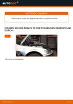 Wie der Austausch einer rechten Motoraufhängung beim BMW E46 Touring funktioniert.