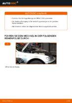 Wie ersetze ich eine vordere Koppelstange am BMW E46 Touring