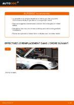 Comment remplacer le support de jambe de suspension avant sur une BMW E46 Touring