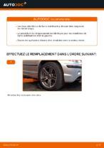 Comment remplacer des douilles pour la barre stabilisatrice avant sur une BMW E46 Touring