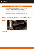 Remplacement d'une coupelle d'amortisseur arrière sur une BMW E46 Touring