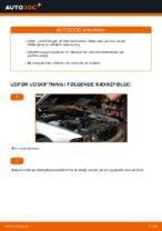 Hvordan man udskifter bremseklodser til skivebremer i bag på BMW E39