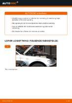 Hvordan man udskifter tårnleje i for på BMW E46 Touring