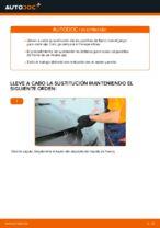 Cómo cambiar las pastillas de freno delanteras del Renault Scenic 2