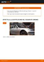 Come sostituire il filtro del combustibile su BMW E46 Touring