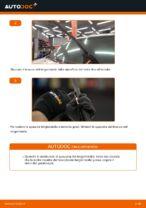 Come sostituire le spazzole anteriori del tergicristallo su Toyota Land Cruiser Prado J120