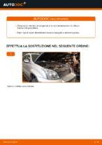 Come sostituire il filtro d'aria motore su Toyota Land Cruiser Prado J120