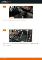 Come sostituire le spazzole anteriori del tergicristallo su BMW E46 Touring