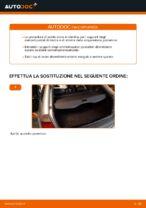 Come sostituire un supporto posteriore dell'ammortizzatore sull' BMW E46 Touring