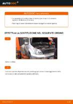 Sostituzione Braccio oscillante sospensione ruota TOYOTA LAND CRUISER: pdf gratuito