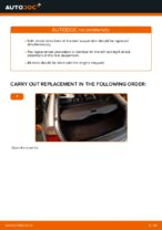 DIY BMW change Shock Absorber rear and front - online manual pdf