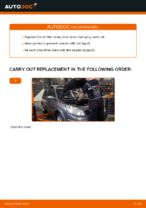 Fitting Oil Filter RENAULT SCÉNIC II (JM0/1_) - step-by-step tutorial