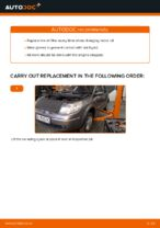 How to replace motor oil and an oil filter on Renault Scenic 2