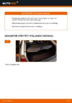 Hur man byter ut bakre stötdämpares fästen på BMW E46 Touring