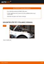 Hur man byter en främre stabilisatorlänk på BMW E46 Touring