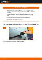 Vedlikehold RENAULT håndbok pdf