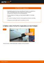 Ako vymeniť predné brzdové kotúče na vašom aute Renault Scenic 2