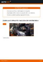Kako zamenjati motorno olje in filter olja na RENAULT SCENIC II (JM)