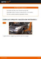 Kako zamenjati motorno olje in filter olja na Renault Scenic 2
