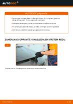 Kako zamenjati zavorne kolute na sprednjem delu pri Renault Scenic 2