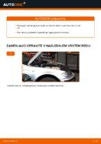 Kako zamenjati sprednje zavorne cevi na BMW E46 Touring