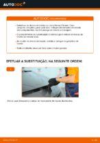 Como substituir os discos de travão dianteiros no Renault Scenic 2