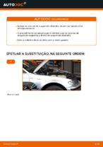 Mudar Amortecedor de suspensão traseiro e dianteiro BMW faça você mesmo - manual online pdf