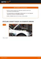 Como substituir molas de suspensão dianteiras em BMW E46 Touring