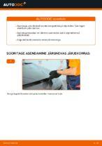 RENAULT SCÉNIC Pidurisadula Remondikomplekt vahetus: tasuta pdf
