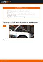 BMW E91 töökoja käsiraamat