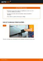 RENAULT SCÉNIC Bremžu uzlikas maiņa: bezmaksas pdf