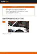 Montavimo Amortizatorius BMW 3 Touring (E46) - žingsnis po žingsnio instrukcijos