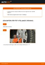 Byta Länkarm hjulupphängning bak och fram MERCEDES-BENZ själv - online handböcker pdf